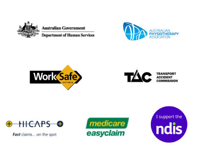 Physio Tac Work Cover Logos